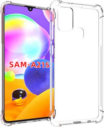 Husa Samsung Galaxy A21S TPU Anti Shock Transparenta Huse Telefoane