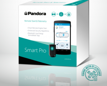 Pandora Smart PRO Sistem de alarma auto prin GSM 3G Bluetooth GPS si conexiuni CAN modul pornire motor optional Alarme auto si Senzori de parcare
