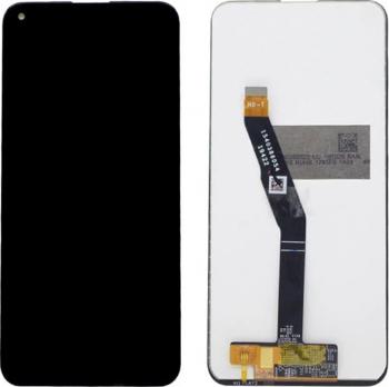 Display cu digitizer touchscreen si sticla premium quality pentru Huawei P40 Lite E Negru Accesorii