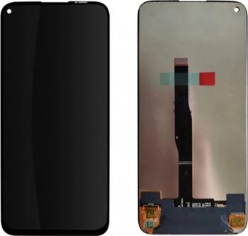 Display cu digitizer touchscreen si sticla premium quality pentru Huawei P40 Lite Negru Accesorii