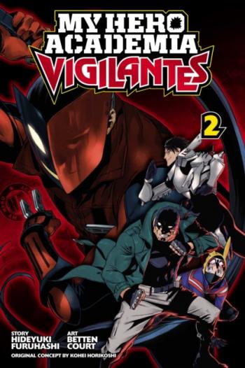 My Hero Academia Vigilantes Vol. 2 Carti