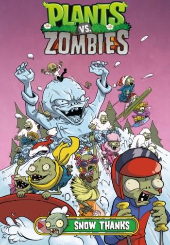 Plants vs Zombies Volume 13 Snow Thanks