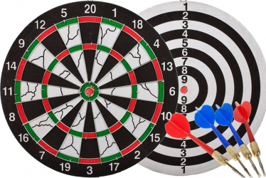 Tabla de dart + 4 sageti Malplay 100244