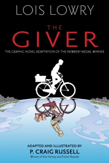 The Giver Graphic Novel Carti
