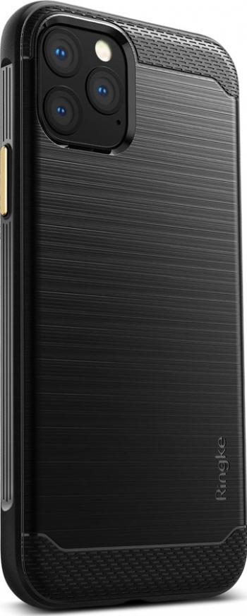 Husa iPhone 11 Pro Ringke Onyx Metal Design Negru Huse Telefoane