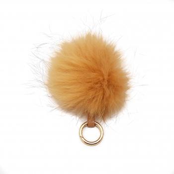Accesoriu geanta blana naturala raton maro Genti de dama