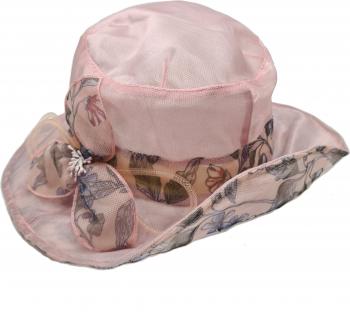 Palarie organza Tia Accesorii roz pudra Accesorii Dama
