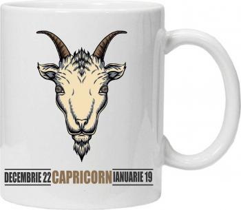 Cana personalizata cu zodii capricorn Cadouri