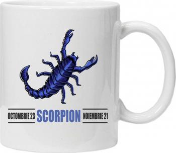 Cana personalizata cu zodii scorpion Cadouri