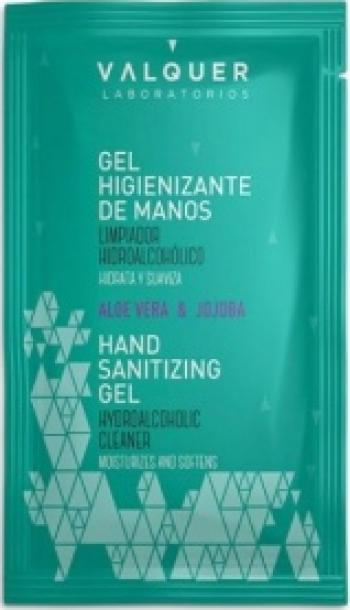 Gel dezinfectant hidroalcolic pentru maini cu aloe vera 1 5ml Gel antibacterian