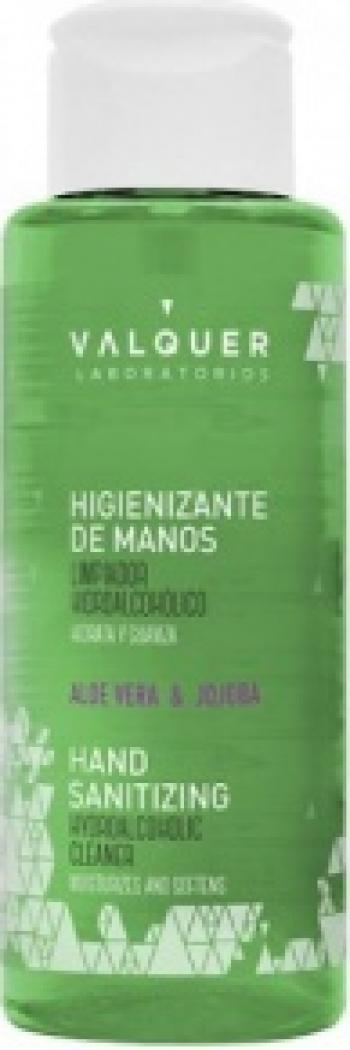 Gel dezinfectant hidroalcolic pentru maini cu aloe vera 100ml Gel antibacterian