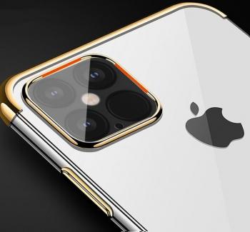 Husa Apple iPhone 11 Pro TPU Electro Gold Huse Telefoane