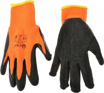 Manusi de iarna pentru protectie ORANGE marimea 9 Geko G73591 Articole protectia muncii