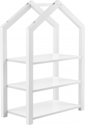 Raft pentru copii Mayen W 85 x 60 x 30 cm lemnMDF alb mat lacuit Accesorii camera copil