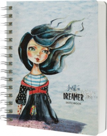 Sketchbook cu spira Having a lovely time - Just a dreamer 103151724 Hobby uri creative