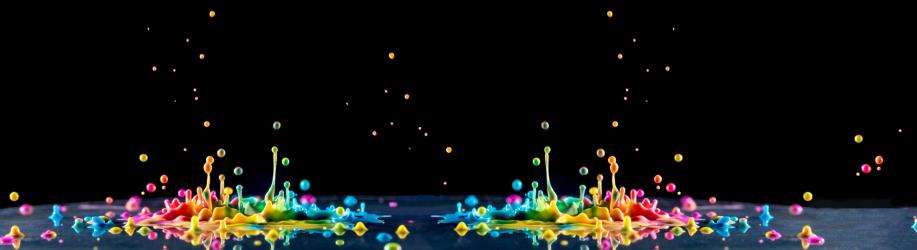 Panou sticla decorativa bucatarie 600X2600MM Droplets Placi decorative