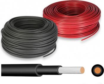 Cablu 4mm pentru conectare panouri fotovoltaice Sisteme si panouri solare