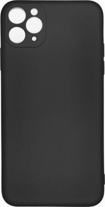 Husa iPhone 11 Pro Max din silicon negru Huse Telefoane