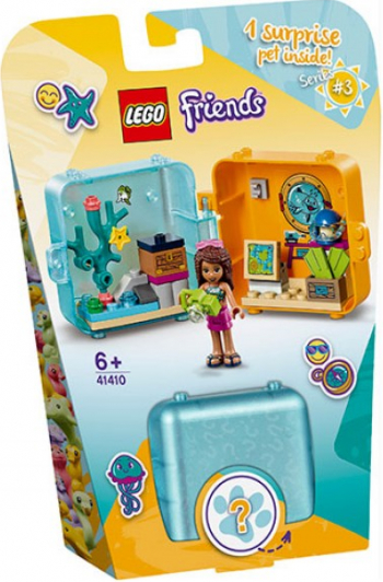 LEGO Friends Cubul jucaus de vara al Andreei No. 41410 Lego