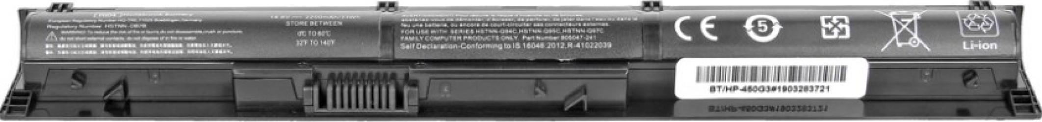 Baterie laptop ECO BOX compatibila HP ProBook 450 470 G3 2200 mAh HSTNN-DB7B 805294-001