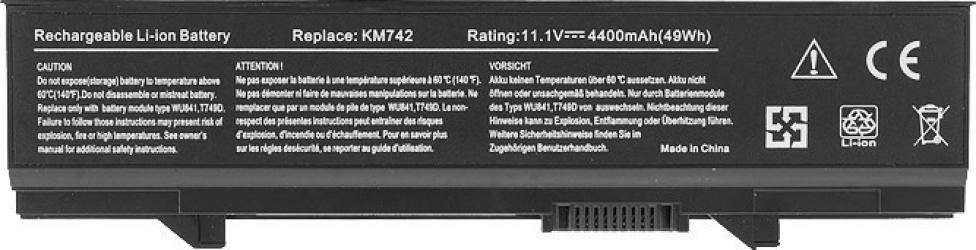 Baterie Laptop EcoBox Dell Latitude E5500 4400 mAh 0KM769 0RM656 0WU843 KM752 PP32L