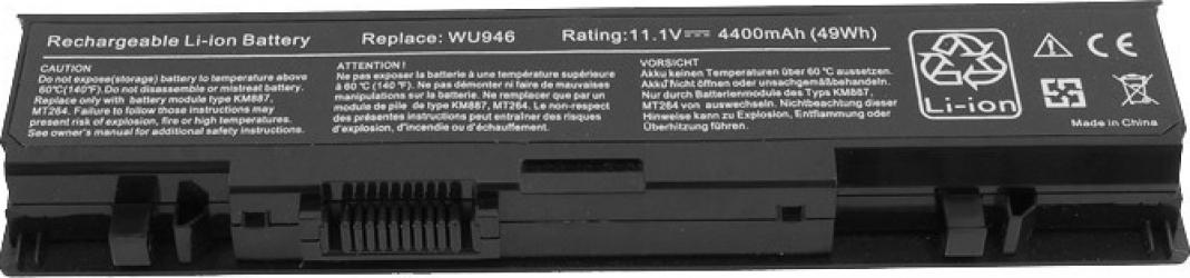 Baterie Laptop EcoBox Dell Studio 1555 4400 mAh 0KM898 0PW772 312-0702 KM958 RM803