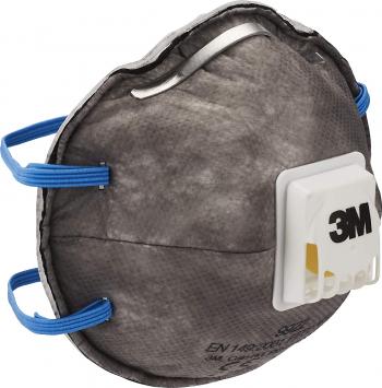 Masca de protectie respiratorie 3M and trade 9922 FFP2 NR D filtru carbon activ si valva Cool Flow and trade certificat CE 2797 Masti chirurgicale si reutilizabile
