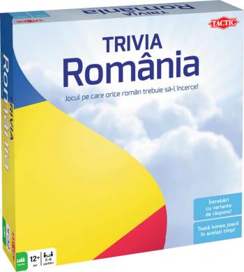 Joc Trivia Romania - Tactic Jocuri de Societate