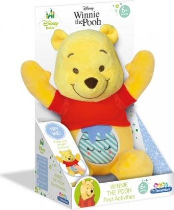 Jucarie bebelusi Winnie the Pooh cu lumini si sunete