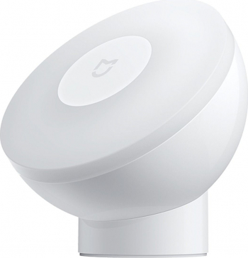 Lampa de veghe Xiaomi Mi Motion 2 cu senzori de miscare si de zi rotire 360 grade 3xAA alba Corpuri de iluminat