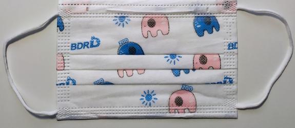 Set 10 buc. masca de protectie unica folosinta pentru copii colorata Masti chirurgicale si reutilizabile