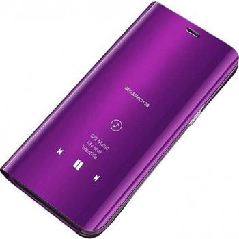 Husa Samsung Galaxy A41 Flip Standing Cover - Purple