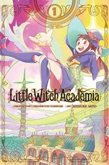Little Witch Academia Vol 1 Manga Carti