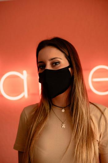 Masca Textila MOxAd-Tech Neagra Reutilizabila Masti chirurgicale si reutilizabile