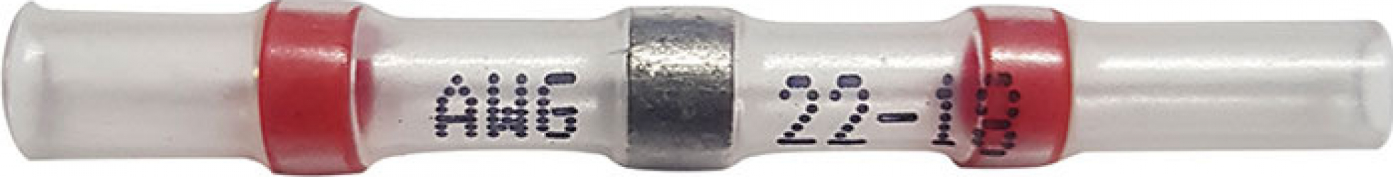 Set 50 bucati Conectori termocontractibili E-LOCKS cu lipire si etansare pentru conductori electrici model ST2R