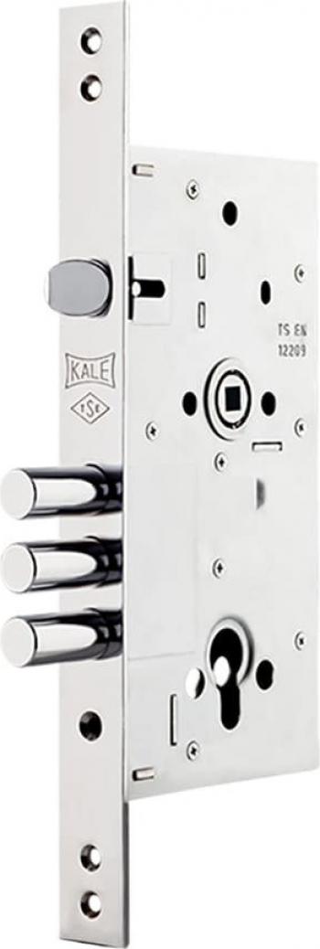 Broasca ingropata Kale 252R usa metalica de siguranta cu zavor si trei bolturi din otel dimensiune 60x85 Butuci, Yale si Incuietori