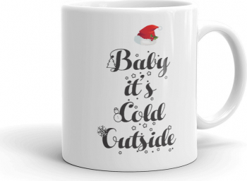 Cana personalizata Baby its cold outside