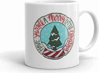 Cana personalizata Have yourself a Merry little Christmas Cadouri