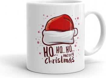 Cana personalizata Ho Ho Ho Merry Christmas