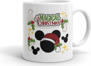 Cana personalizata Magical Christmas
