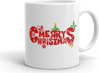 Cana personalizata Merry Christmas Cadouri