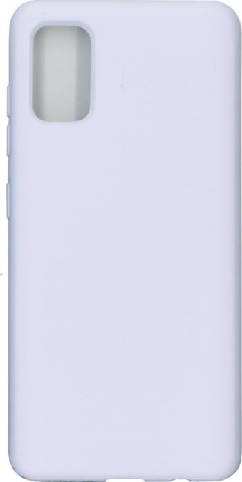 Husa Liquid din silicon mat pentru Samsung Galaxy A41 mov