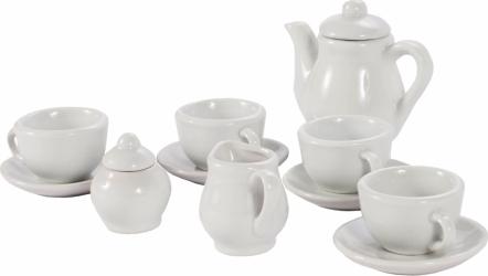 Set de ceai din ceramica pentru vopsire 18 bucati Malplay 107704