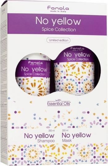 Fanola Set pentru par Fanola No Yellow Spice Collection Sampon 350ml + Masca 300ml Seturi  Pachete Promo