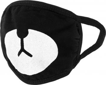 Masca de protectie cu imprimeu reutilizabila din poliester MA-720-79-5 Negru Masti chirurgicale si reutilizabile