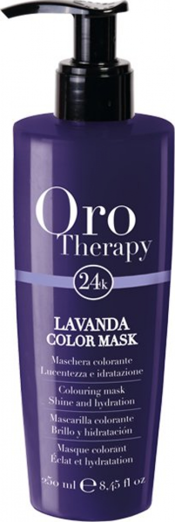 Oro Therapy Masca nuantatoare Oro Therapy Color Mask Lavanda 250ml Vopsea de par