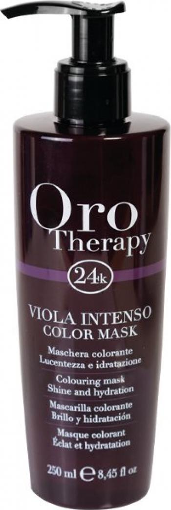 Oro Therapy Masca nuantatoare Oro Therapy Color Mask Viola Intenso 250ml Vopsea de par
