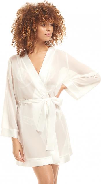 Chiffon Kimono Ivory S Halate dama