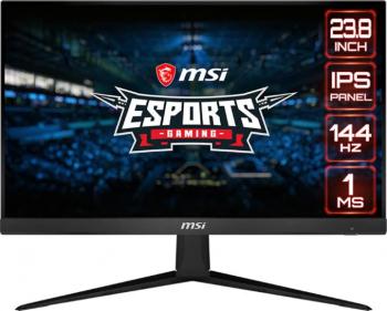 Monitor Gaming MSI Optix G241 24 inch LED IPS 144Hz Full HD 1 ms FreeSync Negru Monitoare LCD LED