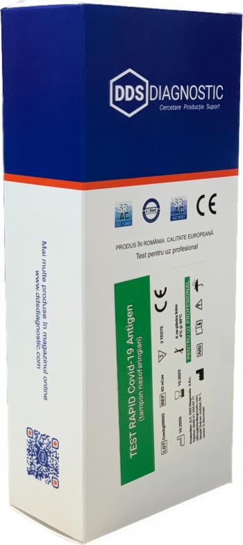 Kit 2 Teste Rapide Covid-19 Antigen tampon nazofaringian - Test rapid Covid 19